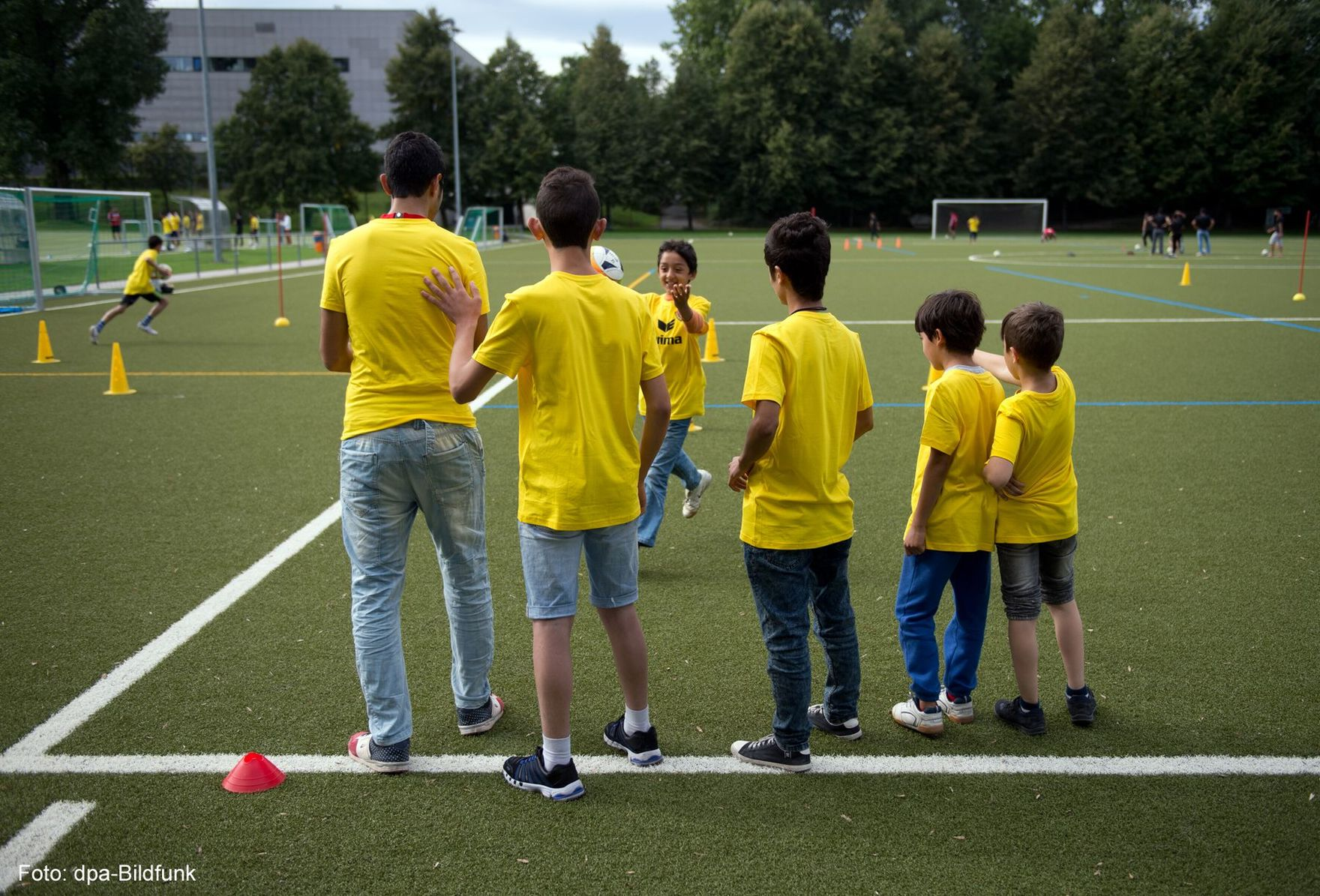 Integrating refugees into sports clubs in Saxony